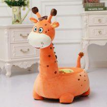 Fotoliu din Plus Girafa de Calarait Portocaliu