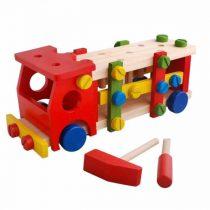 camion lemn toy