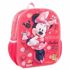 Ghiozdan gradinita 3D Minnie Mouse Disney
