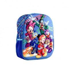 Ghiozdan gradinita 3D Minnie si Mickey Clubhouse Disney