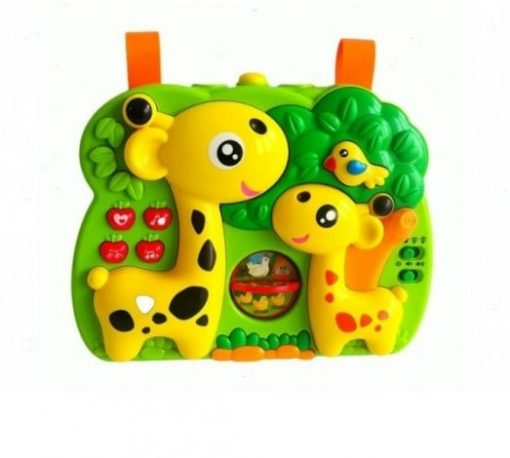 Proiector Muzical bebe cu diferite activitati - Girafa