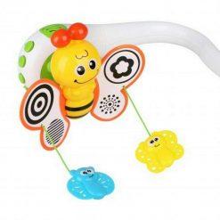 Carusel muzical Bee pentru bebe