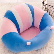 Fotoliu din Plus pentru Bebe –  Bleu cu Roz