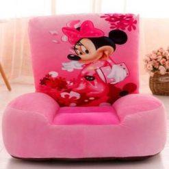 Fotoliu plus Minnie Mouse roz