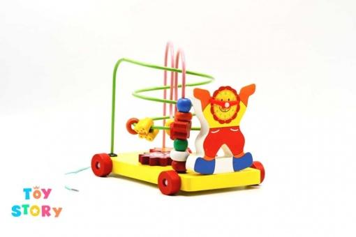 Jucarie motricitate din lemn Montessori - Animalute