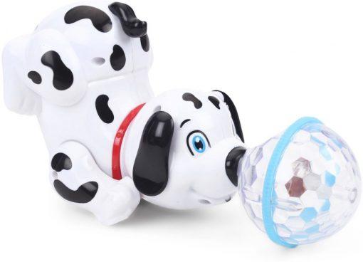 Catelus Dalmatian  Dansator cu lumini reflectorizante 3D