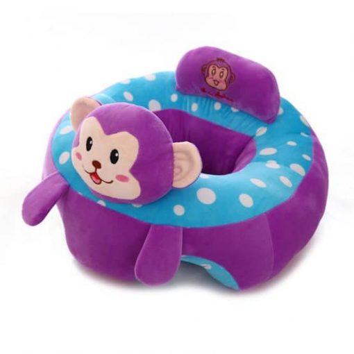 Fotoliu Din Plus pentru bebe Maimutica