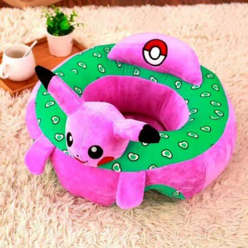 Fotoliu Din Plus pentru bebe Pikachu