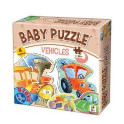 Baby Puzzle Vehicles