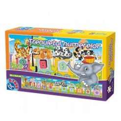 Puzzle Educativ Trenuletul Numerelor 32 pcs