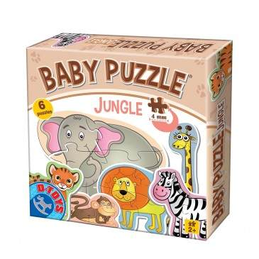 Animalute Baby Puzzle Jungle
