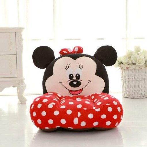 Fotoliu plus Minnie Mouse cu buline