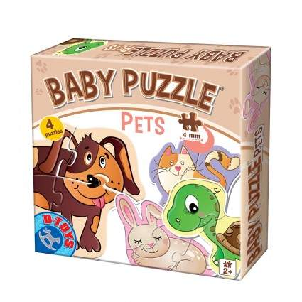 Animalute Baby Puzzle Pets
