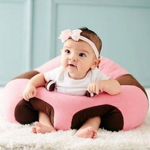 Fotoliu din Plus pentru Bebe – Roz cu Maro