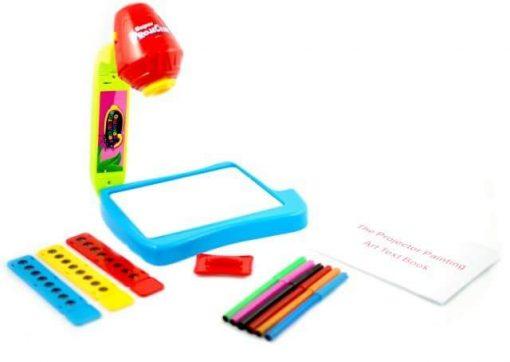 Tabla de desenat cu proiector 3in 1 + set de accesorii desen