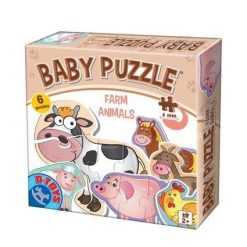 Animalute Baby Puzzle Farm Animals