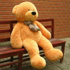 Ursulet din Plus Mare cu Papion 1.2 M