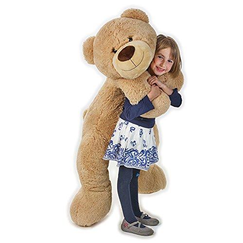 Urs din Plus Bej Mare cu papion 1.5M