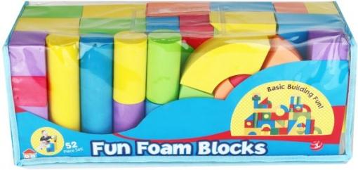 Set Blocuri de spuma colorate 50 de bucati