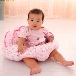 Fotoliu din Plus pentru Bebe - Roz