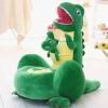 Fotoliu din Plus pentru Copii - Dino verde