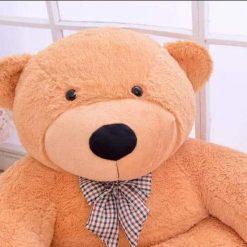 Fotoliu din Plus Ursuletul Teddy - Maro deschis