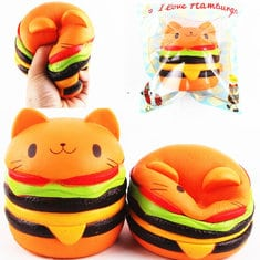 Jucarie Squishy Hamburger