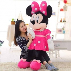 Jucarie din Plus Minnie Mouse Muzicala 140 cm