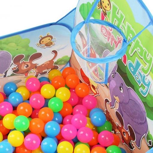 Cort de Joaca Pliabil cu 50 de bile Colorate
