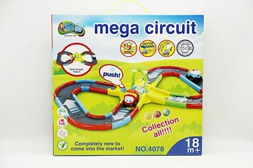 Jucarie Mega Circuit cu Masinuta
