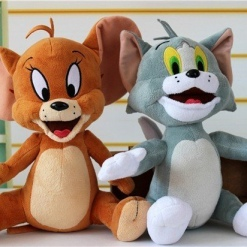 Set Personaje Animate - TOM si JERRY Figurine din Plus