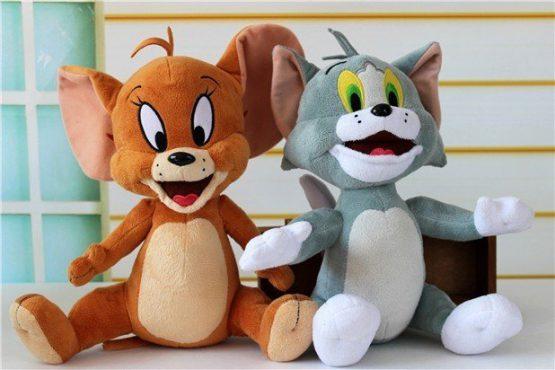 Set Personaje Animate – TOM si JERRY Figurine din Plus