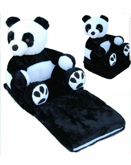 Fotoliu extensibil Ursulet Panda + (CADOU - pernuta gat copii)