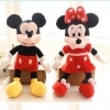 Set Minnie si Mickey Mouse din Plus - 50 cm