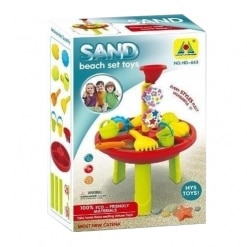 Set de jucarii cu masa pentru nisip si apa