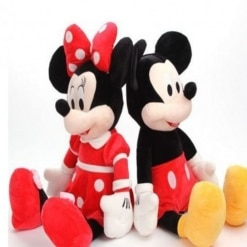 Set Minnie si Mickey Mouse din Plus – 35 cm