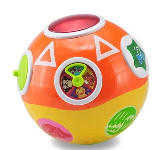 Minge Spin Ball - Abero -Jucarie interactiva bebe