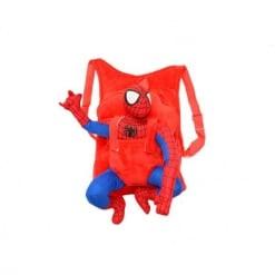 Ghiozdan din Plus cu Mascota Detasabila – Spiderman