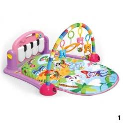 Saltea de joaca bebe cu activitati Kick and Play Piano