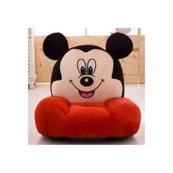 Fotoliu din Plus Mickey Mouse Rosu – Model Mare