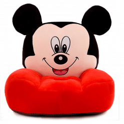 Fotoliu din Plus Mickey Mouse Rosu – Model Mare