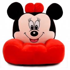 Fotoliu din Plus Minnie Mouse Rosu  - Model Mare