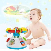Baby Projection Lullaby Musical Toy WISHTIME Baby Music 2 in 1 Projection Cartoon Projector Night Light with Soothing Nature Music Classic Lullabies Best Gift for Kids B07C5N23WJ_2-600x800