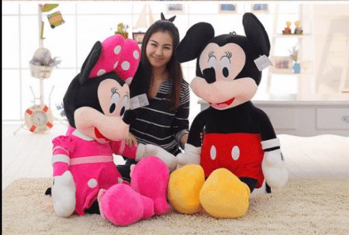 Set Minnie si Mickey Mouse muzicali din Plus – 140 cm