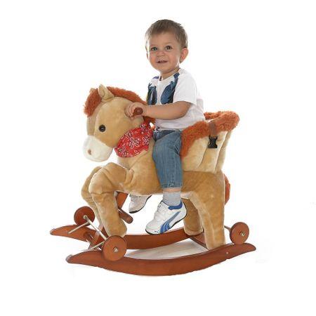 Balansoar Muzical Pentru Copii Calut Crem Toy Story