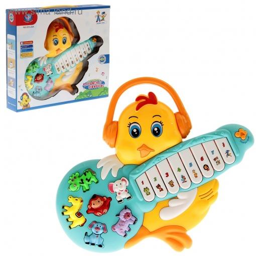 Jucarie muzicala Lovely Chick cu chitara