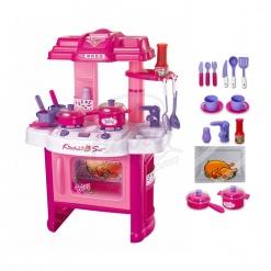 Bucatarie multifunctionala Little Chef cu accesorii
