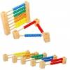 Abac din lemn transformabil cu bile colorate