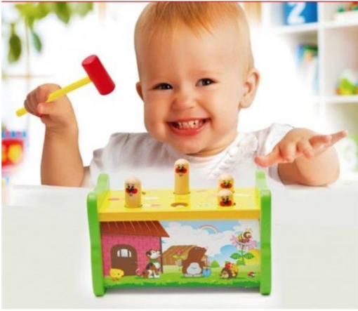 Funny Hit Hamster - jucarie interactiva pentru copii
