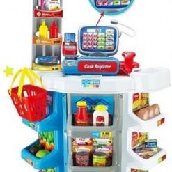 Supermarket Self-Service cu accesorii pentru copii